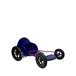 kiddimoto - Wooden Box Kart - Blue