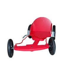 kiddimoto - Wooden Box Kart - Red