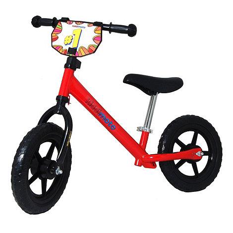 kiddimoto - Junior Balance Bike - Red