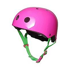 kiddimoto - Helmet 5 Years+ Neon Pink