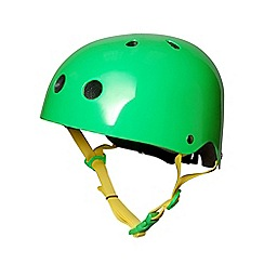 kiddimoto - Helmet 5 Years+ Neon Green