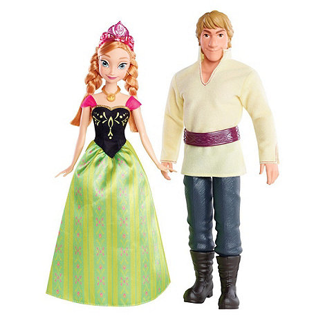 Disney Frozen - Anna and Kristoff Doll (Pack of 2)