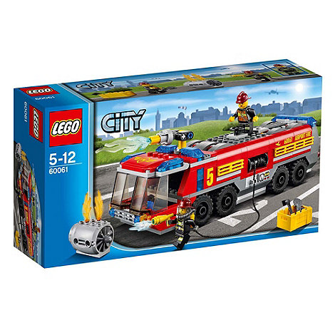 LEGO - City Great Vehicles Airport Fire Truck - 60061