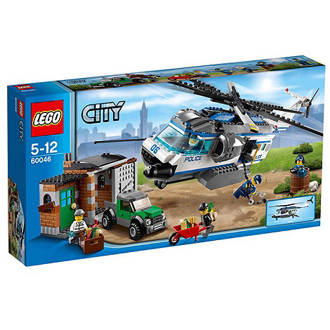 LEGO - City Police Helicopter Surveillance - 60046
