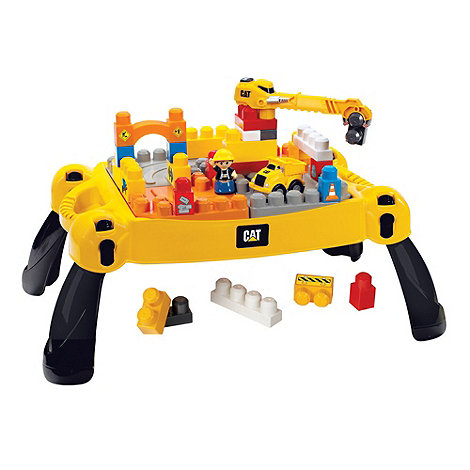 CAT - Mega Bloks Ultimate Construction Site Table