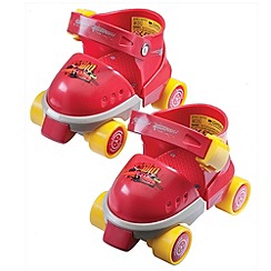 Disney Cars - Roller Skates With Knee & Elbow Pads
