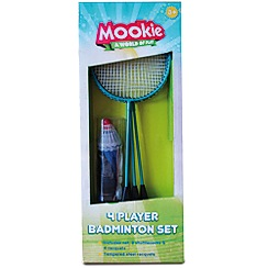 Mookie - 4 Player Badminton Set