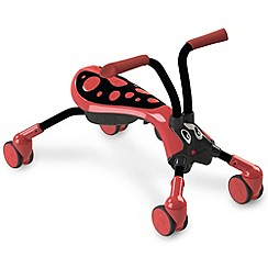Mookie - Scramblebug Beetle - Red/Black