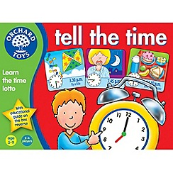 Orchard Toys - Tell The Time Lotto