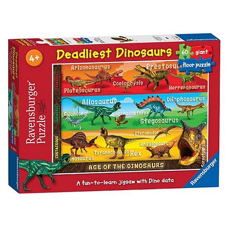 Ravensburger - Dinosaurs 60 Piece Giant Floor Puzzle