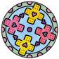 Doc McStuffins - Junior Mandala-Designer Alternative 5