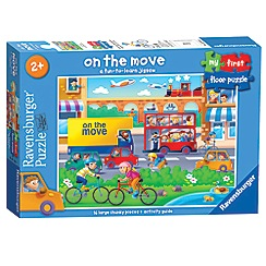 Ravensburger - My First Floor Puzzle, Transport, 16pc