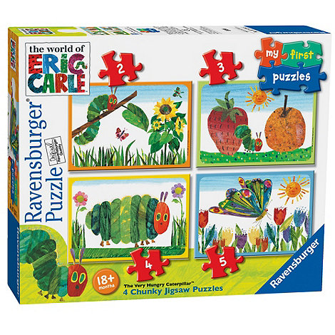 The Very Hungry Caterpillar - Ravensburger My First Puzzles
