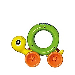 Tomy - Play To Learn Push & Crawl Turtle