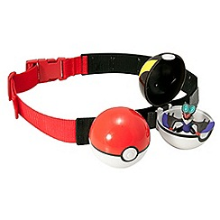 Pokemon - Clip & Carry Poke Ball X2 With Bandolier