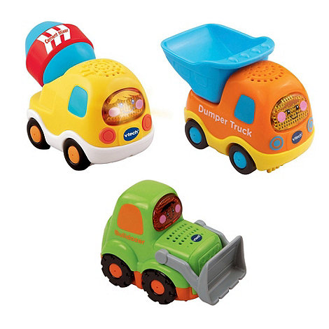VTech - Toot-Toot Drivers 3 Car Pack Construction Vehicles