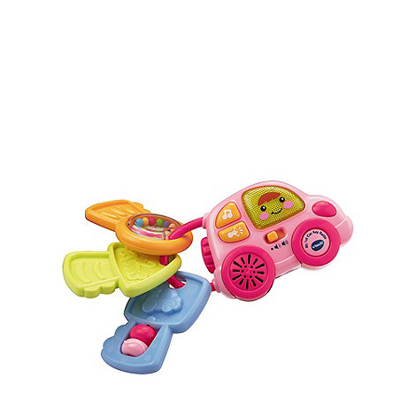 VTech Baby - My 1st Car Key Rattle Pink