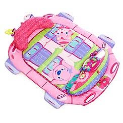 Bright Starts - Pink Tummy Cruiser Prop & Play Mat