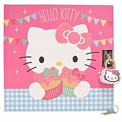 Hello Kitty - Tea Party Lockable Journal
