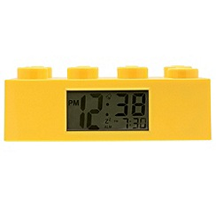 Lego - Yellow brick alarm clock