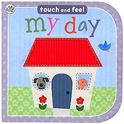 Parragon - Little Learners Touch and Feel Board - My Day