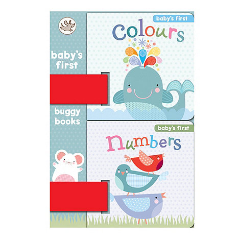 Parragon - Little Learners Baby+S First Buggy Books. Colours/Numbers