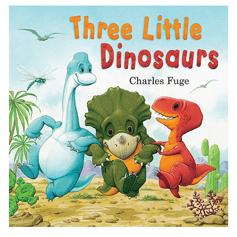 Parragon - Three Little Dinosaurs Picturebook