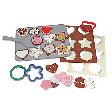 Melissa & Doug - Felt Food - Cookie Decorating Set