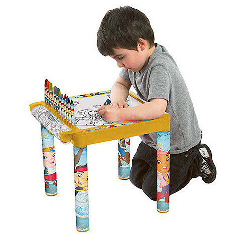 Jake & The Neverland Pirates - Jake Colouring Table