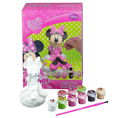 Minnie Mouse - Paint Your Own Figure