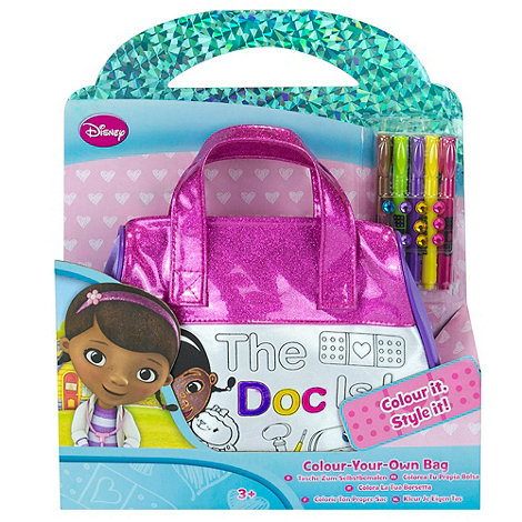 Doc McStuffins - Colour Your Own Bag