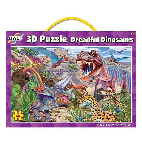 Galt - 3D Dreadful Dinosaurs Puzzle
