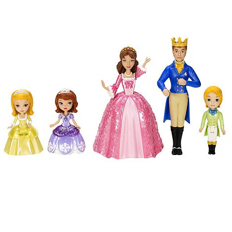 Disney Sofia the First - Royal Family Figure (Pack of 5)