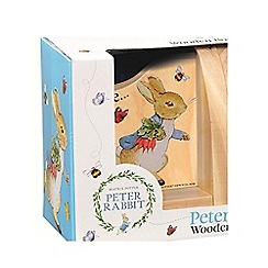Beatrix Potter - Peter Rabbit Wooden Book Ends