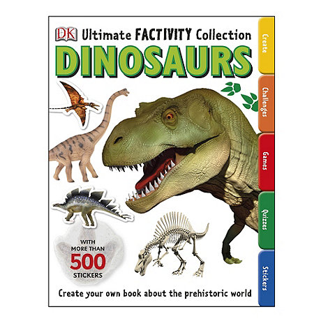 Dorling Kindersley - Ultimate Factivity Collection Dinosaur