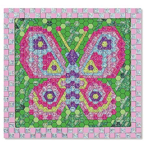 Melissa & Doug - Shiny Mosaics - Butterfly