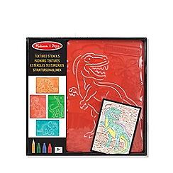 Melissa & Doug - Textured Stencils - Dinosaurs