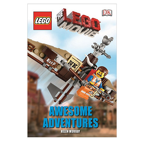 Dorling Kindersley - The LEGO Movie Awesome Adventures book