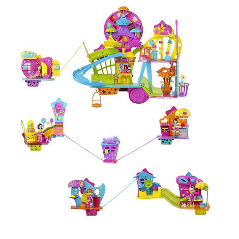 Polly Pocket - Wall Party Mall on the Wall Playset