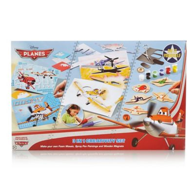 Disney Planes 3 in 1 creativity set - . -