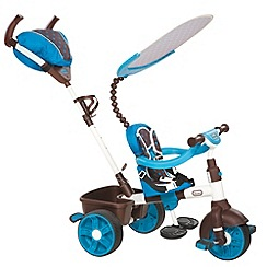 Little Tikes - 4-in-1 Sports Edition Trike - Blue/White