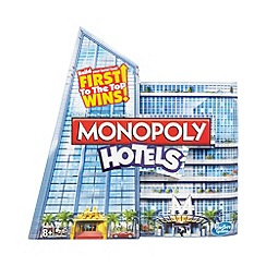 Hasbro - Monopoly Hotels card game