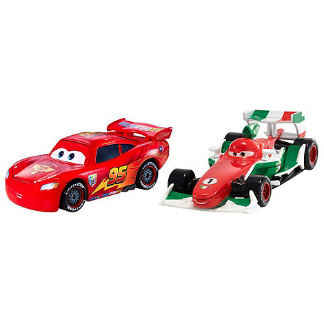 Disney Cars 2 - McQueen and Francesco cars