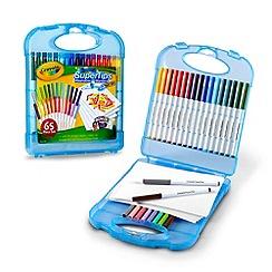 Crayola - Supertips marker & paper set