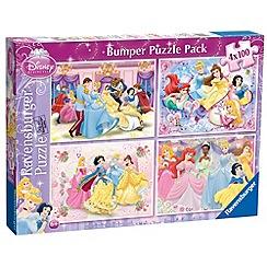 Disney Princess - 4 x 100pc Bumper Pack puzzle