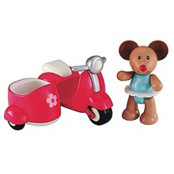 Early Learning Centre - Toy box pink scooter & mouse