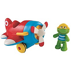 Early Learning Centre - Toy box plane & frog