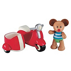 Early Learning Centre - Toy box red scooter & mouse