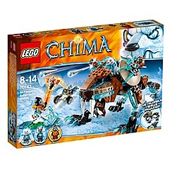 Lego - Legends of Chima Sir Fangar's Saber-tooth Walker - 70143