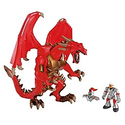 Early Learning Centre - Roaring dragon with knight